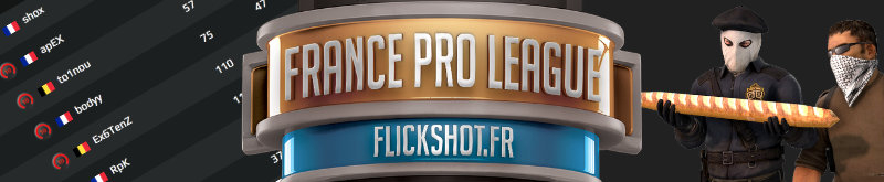 Flickshot lance la France Pro League sur FACEIT
